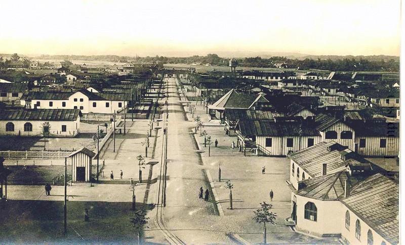 1915-Lager-Wagna-Barackengasse